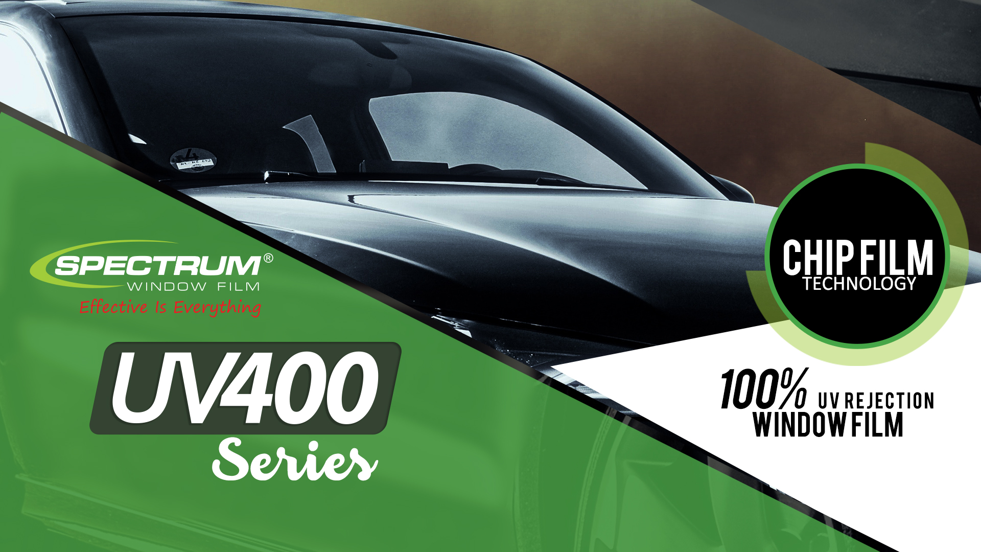 Coming Soon UV400 series dari Spectrum Window Film hadir di Kota Anda