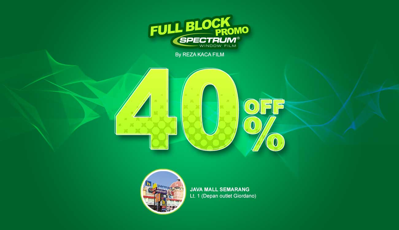 Promo Spectrum Semarang Up To 40%